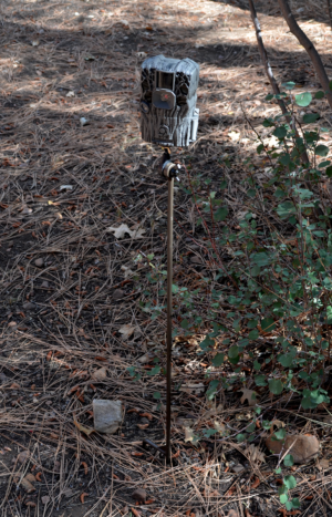 Trail Camera Holder Post