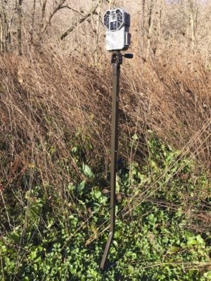 HME Trail Camera Holder Ground Mount - GSM Outdoors