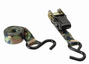 HME Camo Ratchet Tie Down - 2 pack - HME-RS-2PK - GSM Outdoors