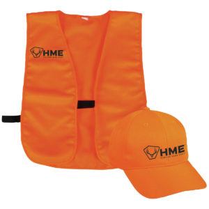 Orange Vest and Hat