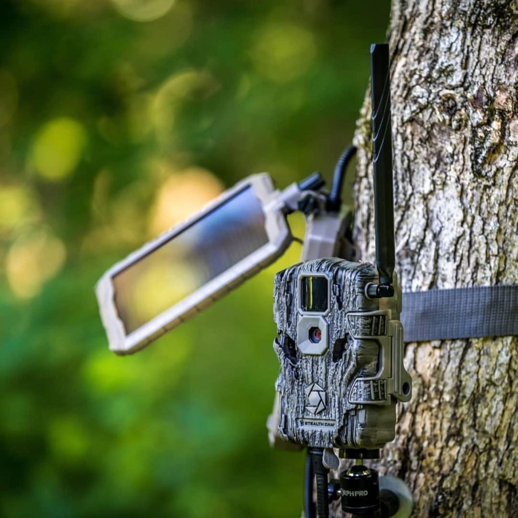 Going Solar With Your Cell Cameras?